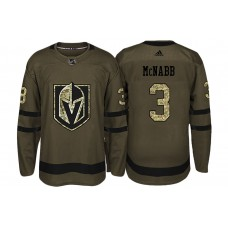 Vegas Golden Knights #3 Brayden McNabb Camo 2018 Salute To Service Jersey