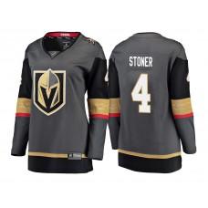 Women's Vegas Golden Knights #4 Clayton Stoner Gray 2018 Fanatics Breakaway Jersey