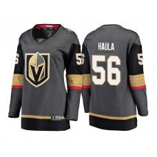 Women's Vegas Golden Knights #56 Erik Haula Gray 2018 Fanatics Breakaway Jersey