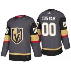 Vegas Golden Knights #00 Gray 2018 Season New Custom Jersey