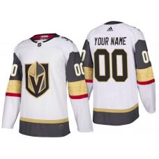Vegas Golden Knights #00 White 2018 Season New Custom Jersey