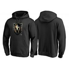 Vegas Golden Knights Black Midnight Mascot Team Pullover Hoodie