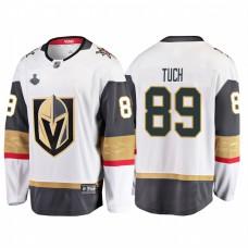 Vegas Golden Knights #89 Alex Tuch 2018 Stanley Cup Final Breakaway Road White Jersey