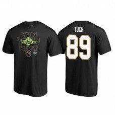 Vegas Golden Knights #89 Alex Tuch Stanley Cup Playoffs 2018 Star Wars Win You Must Name and Number Black T-shirt
