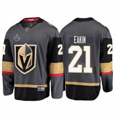 Vegas Golden Knights #21 Cody Eakin 2018 Stanley Cup Final Bound Breakaway Home Gray Jersey
