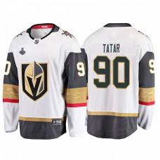 Vegas Golden Knights #90 Tomas Tatar 2018 Stanley Cup Final Breakaway Road White Jersey