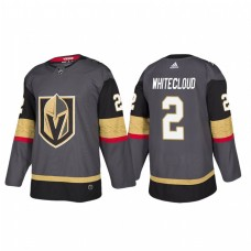 Vegas Golden Knights #2 Zach Whitecloud Home Black Jersey
