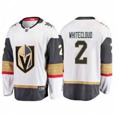 Vegas Golden Knights #2 Zach Whitecloud 2018 Fanatics Branded Breakaway White Jersey