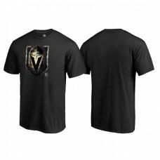 Vegas Golden Knights Midnight Mascot Black T-Shirt