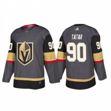 Vegas Golden Knights #90 Tomas Tatar Authentic Player Grey Home Jersey