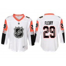 Youth Vegas Golden Knights 2018 All Star #29 White Marc-Andre Fleury Jersey