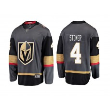 Youth Vegas Golden Knights Gray Clayton Stoner Breakaway Premier 2018 Fanatics Jersey